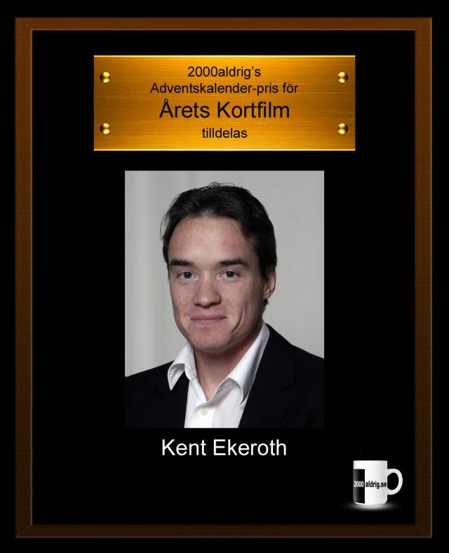 Lucka 23 julkalender adventskalender Kent Ekeroth Sverigedemokraterna Sd järnrör Erik Almqvist satir humor 2000aldrig Expressen