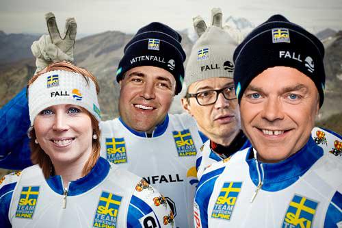 Annie Lööf Centerpartiet Fredrik Reinfeldt Göran hägglund Jan Björklund 2000aldrig satir humor