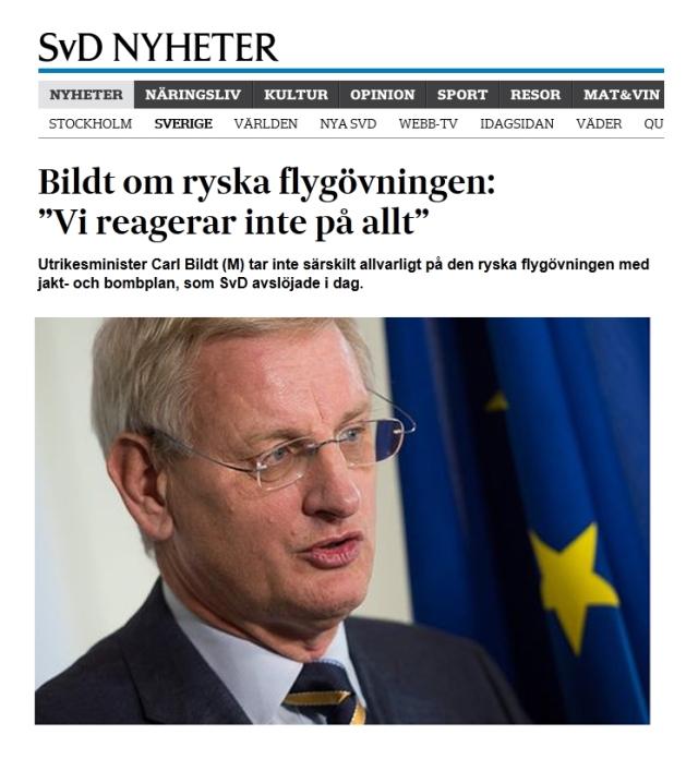 Ryssland flyganfall påsk Carl Bildt Försvarsmakten Flygvapnet 2000aldrig satir humor copy