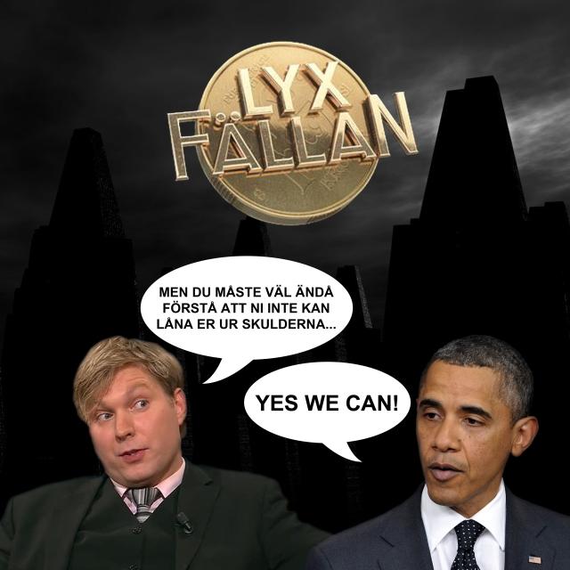 Obama kris USA Lyxfällan ekonomi låna