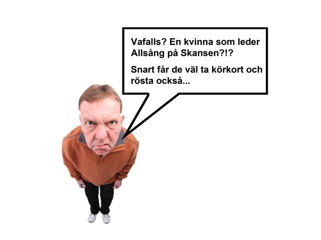 Allsång på Skansen Petra Marklund September 2000aldrig satir humor