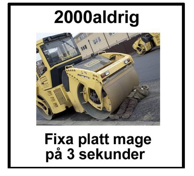 2000aldrig satir humor Aftonbladet fitness 2