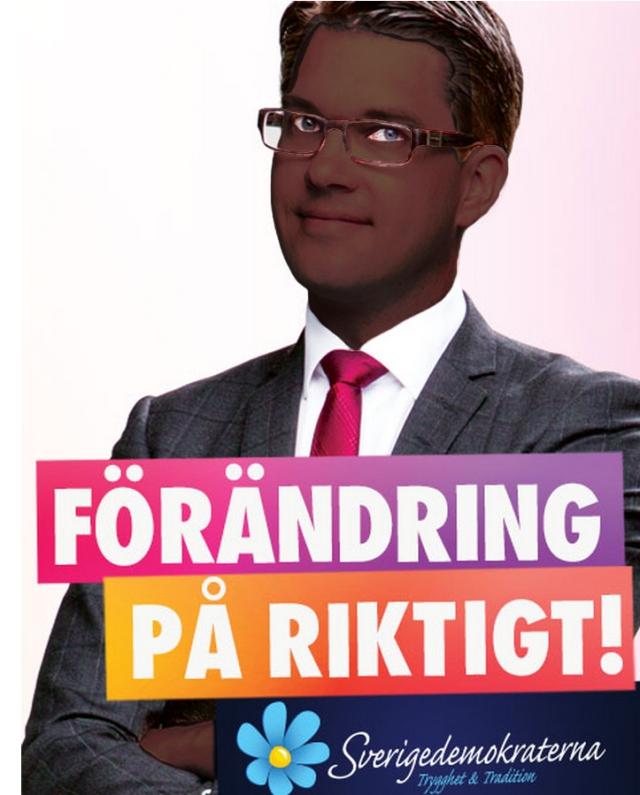 Jimmie Åkesson Sd Sverigedemokraterna Val2014