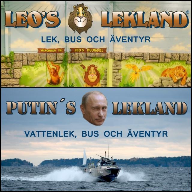 Putins lekland
