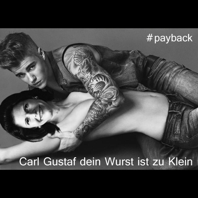 Silvia Sommerlath Carl Gustaf Jusin Bieber Calvin Klein