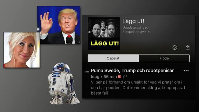 Trump, Puma Swede, Europe, Ian Haugland, sexleksaker, 2000aldrig, satir, humor, pod, podcast